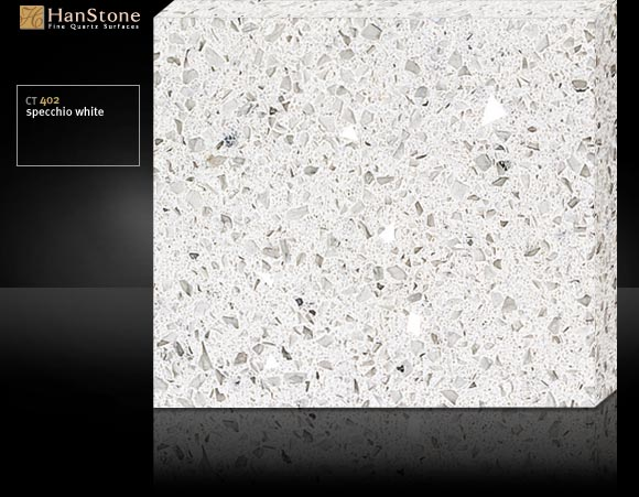 Chicago hanstone countertops kitchen remodeling for Specchio white hanstone