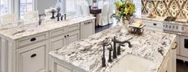 Arabescato White Marble Countertops