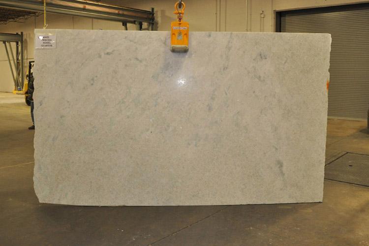 White Princess Arctic Pearl Quartzite Countertops QUARTZITE COUNTERTOPS.  COUNTERTOPS