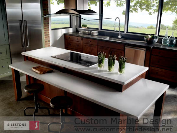 Ariel Silestone Countertops Color