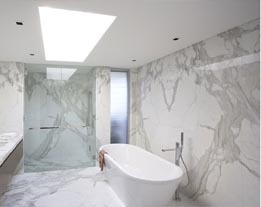 White Calcata Marble